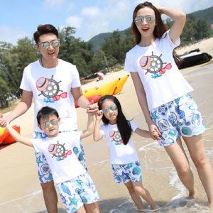 Áo gia đình đi biển TT001
