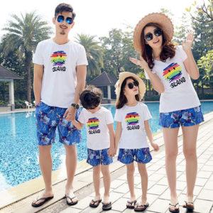 Áo gia đình đi biển TT002