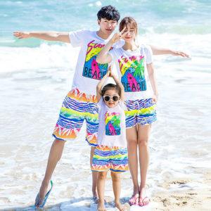 Áo gia đình đi biển TT003