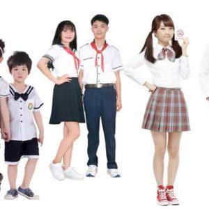 mua đồng phục học sinh ở Hải Dương